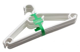 Gizmo - White Hangers - Pack Of 10