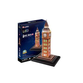 Cubic Fun Big Ben UK - 28 Piece 3D Puzzle with Base & LED Unit