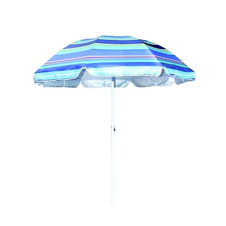 Seagull Beach Umbrella Tilt Silver Coated 200cm