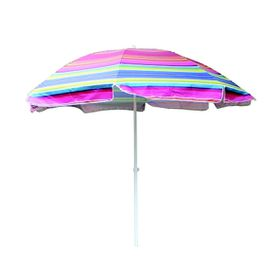 Seagull - Wind Vent Beach Umbrella Tilt UV50 Silver Coated - 256cm
