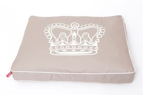 Wagworld - Large Futon Dog Bed - Royal Crown