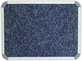 Parrot Bulletin Board Aluminium Frame - Denim Blue (600 x 450mm)