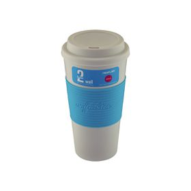 Neoflam - 500ml Double Walled Travel Mug - Blue