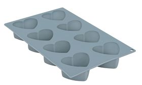 Anzo - Inspire Silicone Heart Mould - 8 Piece - Blue