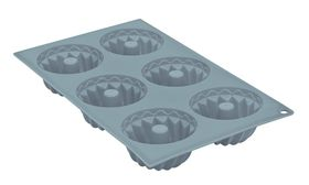 Anzo - Inspire Silicone Crown Mould - 6 Piece - Blue