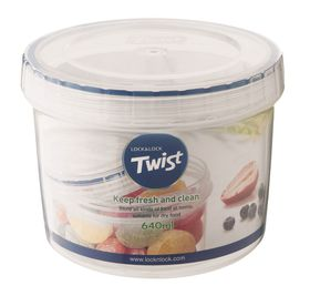 Lock and Lock - Round Twist Container - 640ml