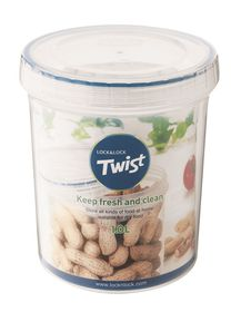 Lock and Lock - Round Twist Container - 1 Litre