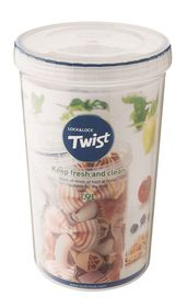 Lock and Lock - Round Twist Container - 1.9 Litre