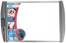 Parrot Whiteboard Slimline Non-Magnetic - White (Retail Pack) 600 x 450mm