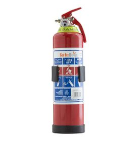 Safe-Quip - Dcp Fire Extinguisher - Red