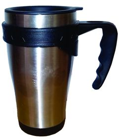 LeisureQuip - 450Ml Travel Mug - Stainless Steel