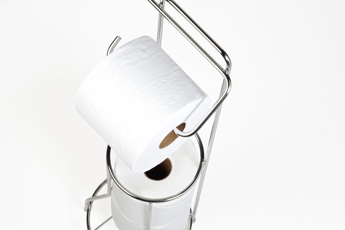 steelcraft toilet roll holder stand loading zoom