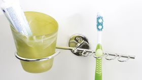 Steelcraft - Toothbrush and Tumbler Holder