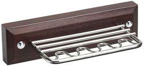 Steelcraft - Wood 'N Steel Toothbrush & Paste Holder