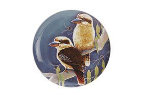 Maxwell and Williams - Katherine Castle Kookaburra Cake Plate - 20cm - Multi-Colour