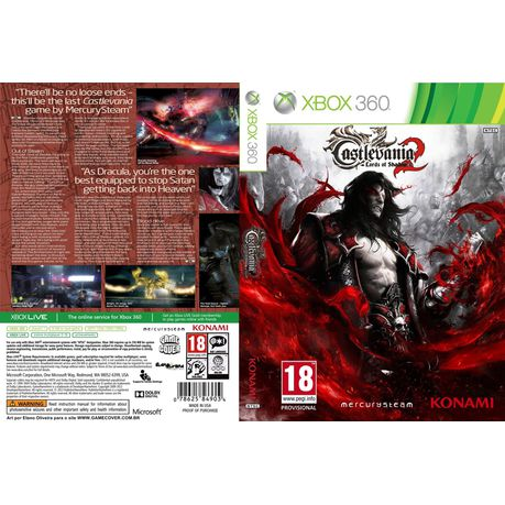 Castlevania Lords Of Shadow Ii Xbox 360 Buy Online In South