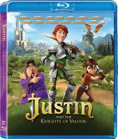 Justin And The Knights Of Valour (Blu-ray)