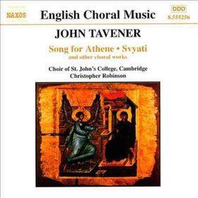 Tavener - Christmas Proclamation Choral Music (CD)