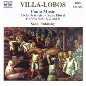 Villa Lobos P - Piano Music Vol 3;Rubinsky (CD)