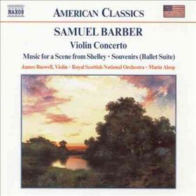 Barber - Violin Concerto - Buswell (CD)