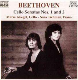 Beethoven - Cello Sonatas, Vol.1;Kliegel/Tichman (CD)