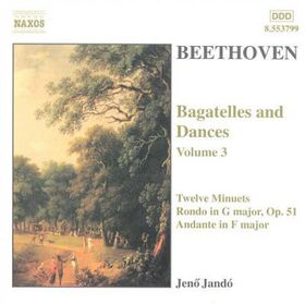 Beethoven - Piano Pieces Vol.3 Jando (CD)