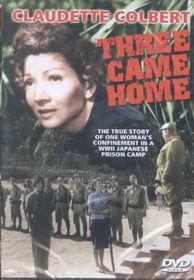Three Came Home - (Region 1 Import DVD)