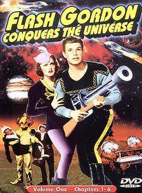 Flash Gordon Conquers the Universe - Vol. 1 - (Region 1 Import DVD)