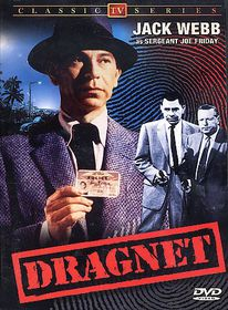 Dragnet - Classic TV Series - (Region 1 Import DVD)