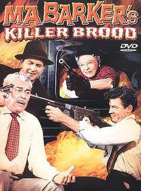 Ma Barker's Killer Brood - (Region 1 Import DVD)