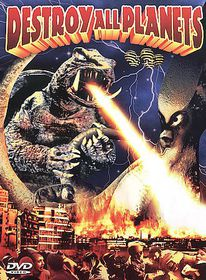 Destroy All Planets - (Region 1 Import DVD)