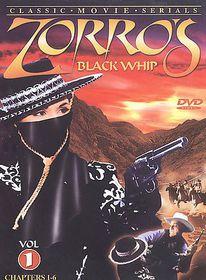 Zorro's Black Whip Vol 1 - (Region 1 Import DVD)