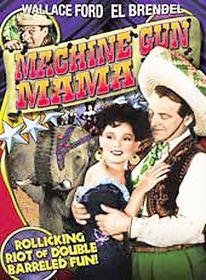 Machine Gun Mama - (Region 1 Import DVD)