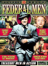Federal Men:Vol 1 Classic TV - (Region 1 Import DVD)