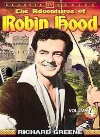 Adventures of Robin Hood - Vol 4 Classic TV Series - (Region 1 Import DVD)