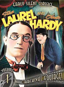 Early Silent Classics of Stan Laurel and Oliver Hardy Vol 1 - (Region 1 Import DVD)