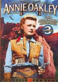 Annie Oakley:Vol 3 TV Series - (Region 1 Import DVD)