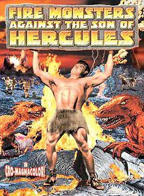 Fire Monsters Against The Son Of Hercules - (Region 1 Import DVD)