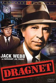 Dragnet:Vol 6 Classic TV - (Region 1 Import DVD)