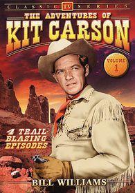 Adventures Of Kit Carson: Vol 1 - Classic TV - (Region 1 Import DVD)