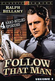 Follow That Man (Aka Man Against Crime): Vol 1 - TV Classics - (Region 1 Import DVD)