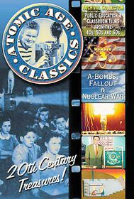 Atomic Age Classics Vol 3 - A-Bombs, Fallout & Nuclear War - (Region 1 Import DVD)