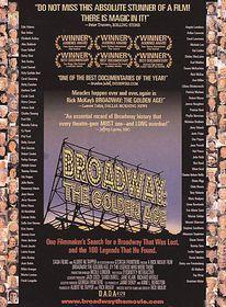 Broadway:Golden Age - (Region 1 Import DVD)