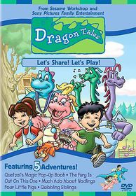 Dragon Tales:Let's Share Let's Play - (Region 1 Import DVD)