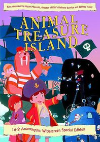 Animal Treasure Island - (Region 1 Import DVD)