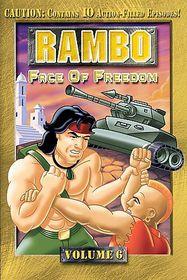 Rambo Vol 6:Face of Freedom - (Region 1 Import DVD)