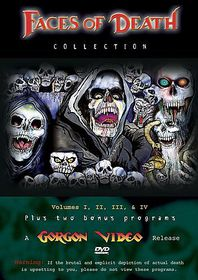 Faces of Death Collection 1-4 - (Region 1 Import DVD)