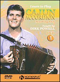 Learn to Play Cajun Accordion Vol 1 - (Region 1 Import DVD)