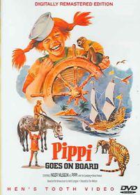 Pippi Goes on Board - (Region 1 Import DVD)