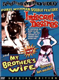 Indecent Desires/My Brother's Wife - (Region 1 Import DVD)